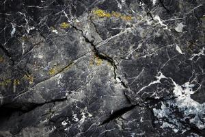 vecchie rocce calcaree foto