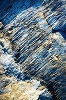 legno blu grezzo foto