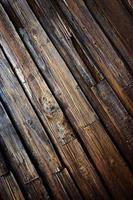 vecchio pavimento in legno foto