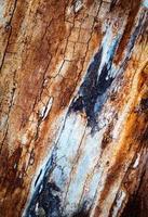 vecchia struttura di legno usurato foto