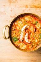 zuppa piccante di gamberi foto