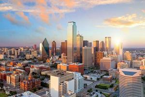 dallas, paesaggio urbano del Texas foto