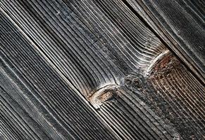 dettaglio della vecchia tavola di legno grigio foto