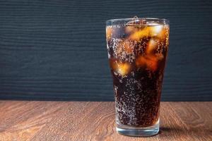 soda con copia spazio foto