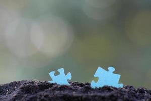 puzzle di close-up foto