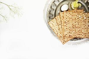 concetto di celebrazione di pesach, festa di Pasqua ebraica foto