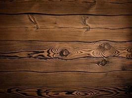 sfondo di legno bruciato foto