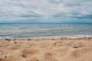 sabbia sulla spiaggia foto