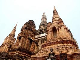 mueang kao, thailandia, 2021 - tempio nel parco storico di sukhothai foto