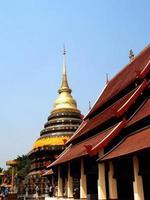chiang mai, thailandia, 2021 - tempio wat phra that doi suthep foto
