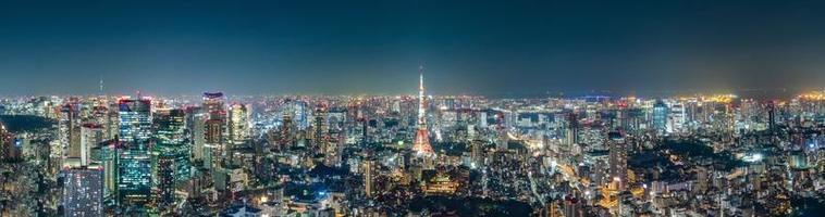 paesaggio urbano di tokyo foto