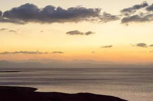 morbido tramonto in sordina foto
