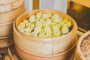 gnocco dim sum, cibo cinese foto