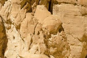 rocce marrone chiaro foto