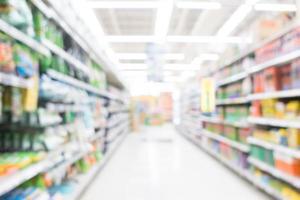 supermercato sfocatura astratta