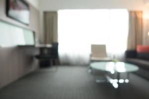 sfocatura astratta sfondo interni camera foto