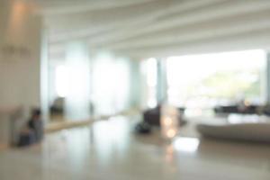 sfocatura astratta hall dell'hotel foto
