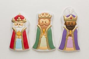 statuette commestibili di biscotti reali foto