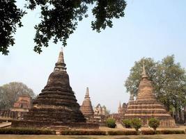 parco storico di sukhothai, thailandia foto