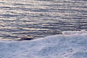 ghiaccio e acqua foto