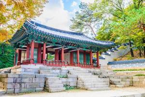 palazzo changdeokgung nella città di seoul, corea del sud foto