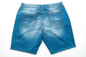pantaloni jeans corti foto