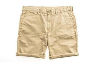 pantaloni chino marroni foto