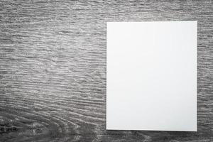 libro bianco vuoto mock up foto