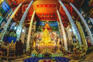 thailandia 2017- wat phra that cho hae, provincia di phrae foto