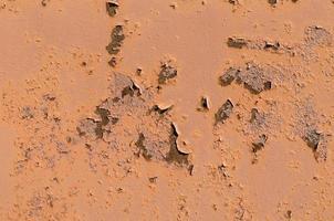vecchia struttura verniciata marrone foto