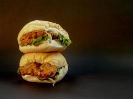 foto di cibo hamburger