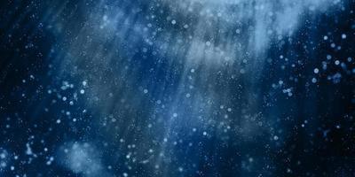 sfondo sfocato con stelle lampeggianti, bokeh sfocato, illustrazione 3d foto