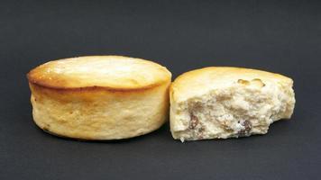 primo piano delizioso dessert torta di cheesecake foto