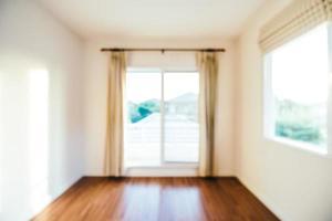 sfocatura astratta interni della stanza per lo sfondo foto