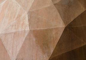 parete beige geometrica