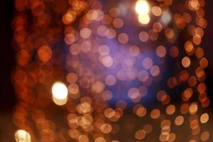 sfondo sfocato colorato bokeh con sfondo effetto retrò foto