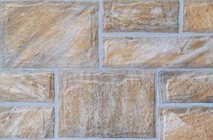 struttura uniforme del muro di mattoni rettangolari foto