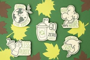 concetto di riciclaggio ecologico foto