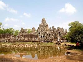 siem reap, cambogia, 2021 - parco di angkor thom foto