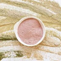 polvere rilassante per nutrizione, salute e benessere foto