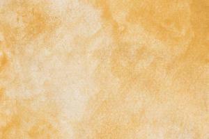 sfondo di carta acquerello giallo foto