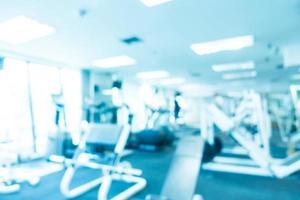 sfocatura astratta fitness e palestra foto