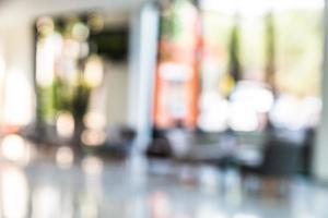 astratto hotel lobby sfocatura dello sfondo foto