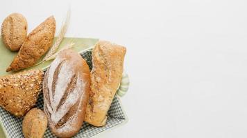 cestino del pane diverso foto
