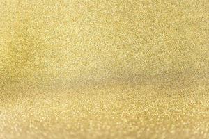 primo piano sfondo glitter dorato foto