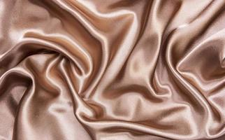 sfondo di seta marrone foto