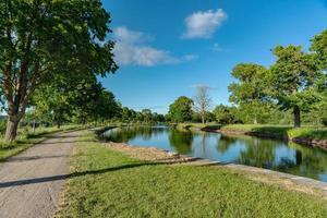parte del canale Gota in estate foto