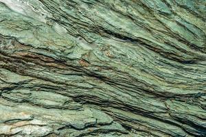 modello di roccia scistosa erosa foto