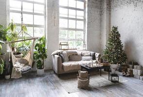 interior design della camera per la nuova casa foto