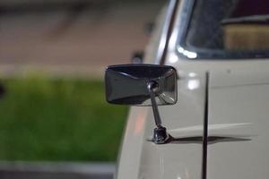 dettagli di auto retrò volga. industria automobilistica sovietica. foto